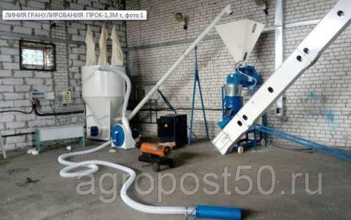Мини-Линия Гранулирования Комбикорма 400-700 кг