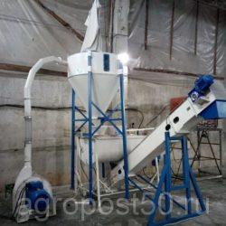 Комбикормовый завод ПРОК-500 с Горизонтальным Смесителем